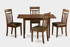 5 Piece Kitchen Set - Dining room Table and 4 dining room chairs Chairs