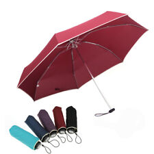 Pocket Ultra Light 5 Foldable Anti-UV Sun Rain Mini Small Travel Umbrella Brolly