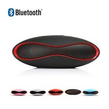 Rugby Bluetooth Wireless Speaker Music AUX USB FM MicroSD for iPhone Android