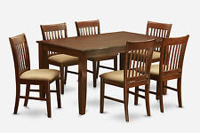 7 PC Dinette Table Set for 6-Dinette table and 6 dinette Chairs
