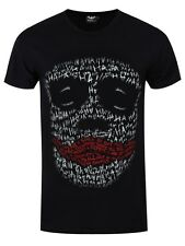 DC Comics The Joker Face Ha Ha Men's Black T-shirt