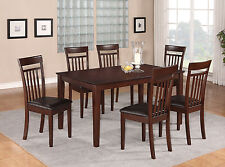 7 PC dining room set- Dinette table and 6 Dining room Chairs