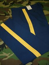 US ARMY DRESS BLUE UNIFORM PANTS TROUSERS ASU POLY/WOOL TROPICAL BLUE 451 NEW
