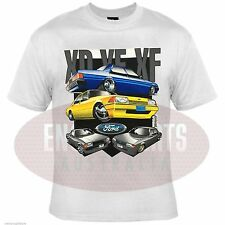 FORD FALCON XD XE XF 302 351 CLEVELAND WINDSOR V8 HOT ROD DRAG RACE CAR T-SHIRT