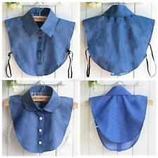 Detachable Peter Pan Women Lapel Shirt Fake False Collar Choker Necklace Blouse