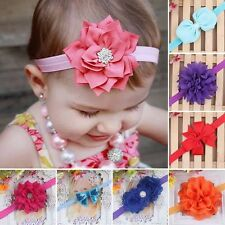 Princess Girl Baby Toddler Infant Flower Headband Hair Bow Band Accessories Gift