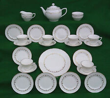 ROYAL WORCESTER - GOLD CHANTILLY - TEA SERVICE SELECTION