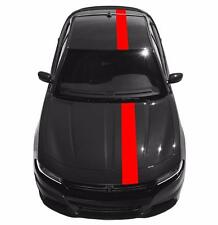 """Fits Dodge CHARGER 8"""" Single Offset Racing Stripes Vinyl Decal Car Graphics"""