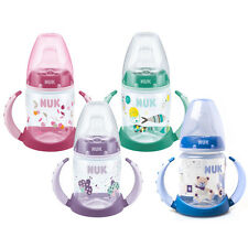 NUK Baby Feed Training Learner Bottle 150ml Non-Spill Silicone Spout