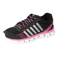 K-Swiss Athletic Running Shoes Black, Neon Pink w Foam Insoles Sz 6-11 NWT