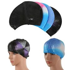 Adult Sports Silicone Swim Cap Flexible Durable Elasticity Swimming Hat
