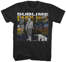 SUBLIME - Multi Logo With Dog - T SHIRT S-M-L-XL-2XL Brand New Official T Shirt