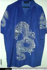 new DRAGON WITH ORB HAWAIIAN SHIRT choice size/color