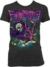 ESCAPE THE FATE - Rose Skull - Girlie T SHIRT top S-M-L-XL New - Official Top