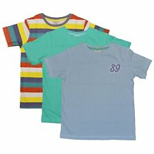 Boys T Shirts 3 Pack South Island 100% Pure Cotton Age 5-6 & 6-7 Years NEW