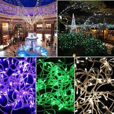 String 100LED 10M Party Fairy Bulbs Christmas Lights Waterproof