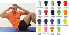 JUST COOL POLO SHIRT by AWDis (JC040) - FITNESS JOGGING RUNNING GYM - S-XXL