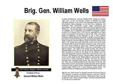 GETTYSBURG GENERAL WELLS SIGNED CHECK - MEDAL OF HONOR