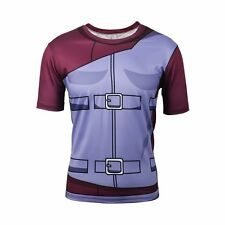 Cool 3D Anime Characters Men's Casual Short Tee T-Shirt Sport Costume Jersey