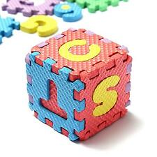 36Pcs Baby Boy&Girl EVA Puzzle Mat Alphabet Number Educational Toy Puzzling Foam