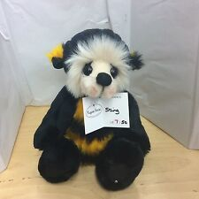 KAYCEE BEARS STING PLUSH JOINTED LIMITED EDITION BEE NEW FOR 2016 BNWT