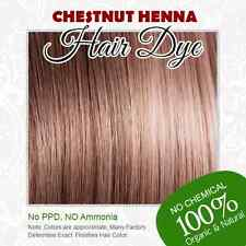 Chestnut Henna Hair Dye - 100% Organic and Chemical free Henna for Hair