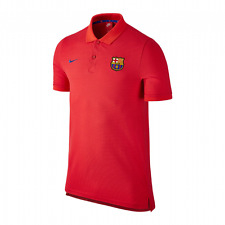 Nike Barcelona Authentic Grand Slam Polo Shirt 2016/17 - Red - Mens