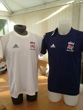 Great Britain Cycling Team Rider Issue Adidas Team Sky Poly T-Shirt
