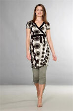 Wrap maternity dress -Noppies wrap tunic dress - XXL UK18