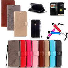 Fashion Leather Flip Case Cover Card Slot Stand Wallet Magnetic For iPhone+Gift