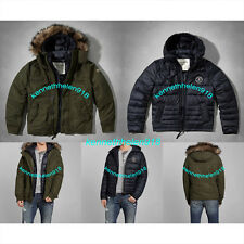 NWT ABERCROMBIE & FITCH MENS LAKE ROAD PARKA 2-in-1 JACKET SIZE MEDIUM A&F