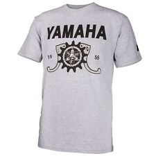 NEW Men's Yamaha GEARED TEE BY ONE INDUSTRIES GRAY T-SHIRT CASUAL APPAREL