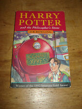 Harry Potter and the Philosopher's Stone 1st First edition,P/B 1997 ,BOOK RUN 37