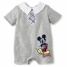 NWOT Disney Mickey Mouse Baby Infant Toddler Boys Romper (NB, 0-3M)