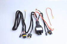 New 2x HID Car lights Set Fog Light HID XENON SLIM KIT Wiring Harness Controller