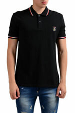 "Gianfranco Ferre ""Beachwear"" Men's Black Short Sleeve Polo Shirt XS S M L XL"