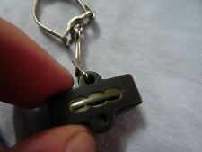 Spirit Level Tool MINIATUR METAL  key chain VTG REAL RARE PIECE KEY RING