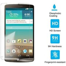 Tempered Glass Screen Protector Film+Ultra-thin Clear TPU Case Cover For LG S002