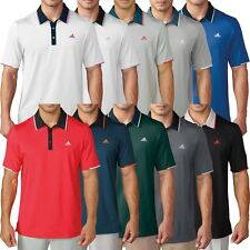 Dustin Johnson Adidas Golf THE OPEN 2016 Climacool Tip Ventilated Polo Shirt