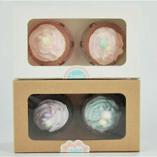 Muffin Bakeware Paper Package Hole Cupcake Wedding Bun Carboard Tray Holder Box