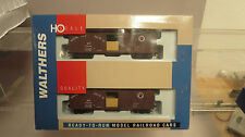 Walthers 932-22123 40' Wood Boxcar w/ Grain Doors NP (2-Pack) HO Kit
