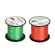 500M Pro Super Power 15 to 80LB Dyneema PE Braided Strong Fishing Line Fisher