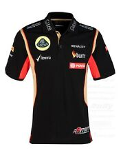 POLO SHIRT Mens Formula One 1 Lotus F1? Team NEW PDVSA Grosjean 2014/5 US