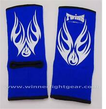 Twins Special Muay Thai Ankle Support Red and Blue