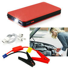 Red 12V 20000mAh Multi-Function Car Jump Starter Power Booster Battery Charger B