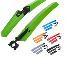 1pcs Cycling Mountain Bicycle Front Rear Plastic Mudguard Fender Bike Mud Guards
