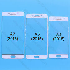White Front Outer Lens Glass Screen For Samsung Galaxy Phone A3 A5 A7 (2016)