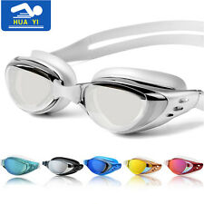 Pro Adult Electroplating LENS Anti-Fog UV Protect Swim Glasses Swimming Goggles