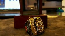 2005 Pittsburgh Steelers Super Bowl Superbowl Championship Ring H Ward Sz 10-14