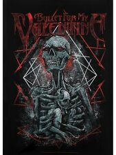 Bullet for My Valentine Skeleton Black BFMV Textile Flag 77x105cm